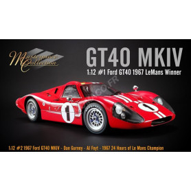 FORD GT40 MKIV 1 DAN GURNEY/ AJ FOYT LE MANS 1967 1ER