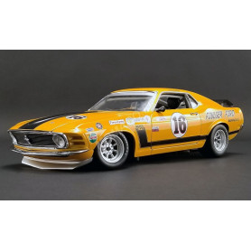 "FORD MUSTANG BOSS 302 TRANS AM 16 GEORGE FOLLMER ""FOULGER FORD"" 1970"