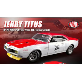 PONTIAC FIREBIRD TRANS AM 26 JERRY TITUS TRIBUTE EDITION 1968 (EPUISE)