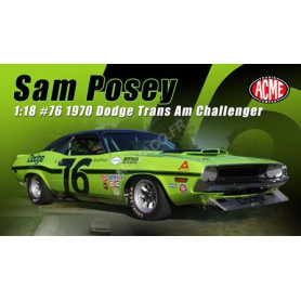 DODGE CHALLENGER TRANS AM 76 SAM POSEY 1970 (EPUISE)
