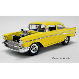 "CHEVROLET BEL AIR 1957 ""THE HOLLYWOOD KNIGHTS (1980)"" JAUNE"