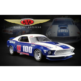 FORD MUSTANG SHELBY BOSS 302 TRANS AM U100 ALLAN MOFFAT 1969 DDA EXCLUSIVE