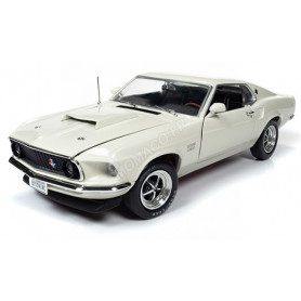 FORD MUSTANG BOSS 429 1969 BLANCHE
