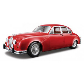 JAGUAR MARK II 1959 ROUGE