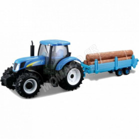 NEW HOLLAND T7000 AVEC RONDINS