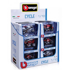 "DISPLAY DE 18 PIECES : MOTOS ""CYCLE"""
