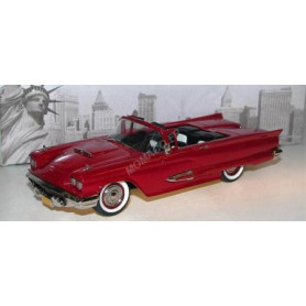 FORD THUNDERBIRD CONVERTIBLE 1959 ROUGE