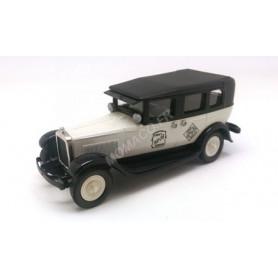 "GMC MODEL 6 TAXI 1930 ""ERNIE'S CAB"" BLANC/NOIR (BROKBML19X)"