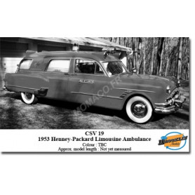 HENNEY PACKARD LIMOUSINE AMBULANCE 1953