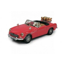 MG B CONVERTIBLE ROUGE