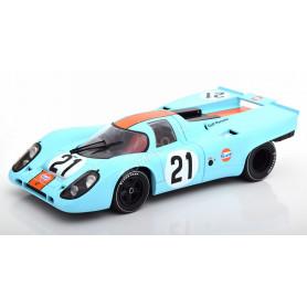 """PORSCHE 917K """"GULF"""" 21 RODRIGUEZ/KINNUNEN LE MANS 1970"""