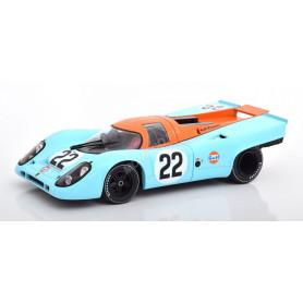 "PORSCHE 917K ""GULF"" 22 HOBBS/HAILWOOD LE MANS 1970"