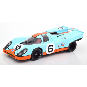 "PORSCHE 917K ""GULF"" 6 BELL/SIFFERT 1000KM BRANDS HATCH 1971"