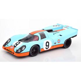 "PORSCHE 917K ""GULF"" 9 SIFFERT/REDMANN 1000KM BRANDS HATCH 1970"