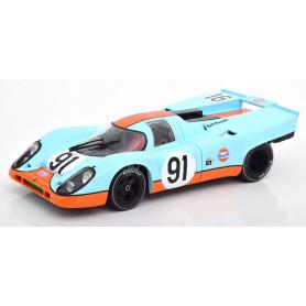 """PORSCHE 917K """"GULF"""" 91 ATTWOOD CAN-AM WATKINS GLEN 1971"""