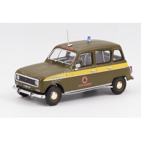 RENAULT 4L SECURITE CIVILE 1980
