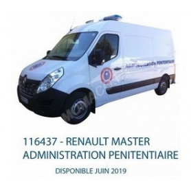 "RENAULT MASTER ""ADMINISTRATION PENITENTIAIRE"" (EPUISE)"