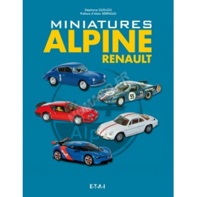 LIVRE MINIATURES ALPINE RENAULT