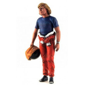 FIGURINE JAMES HUNT AVEC CASQUE
