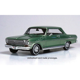 "CHEVROLET NOVA 1963 VERT ""LAUREL GREEN"""