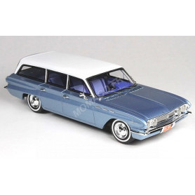 BUICK SPECIAL STATION WAGON 1962 BLEUE TOIT BLANC