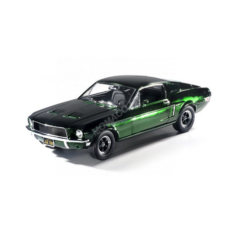FORD MUSTANG GT FASTBACK GREEN CHROME EDITION 1968