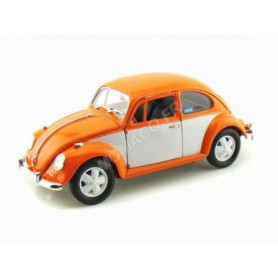 VOLKSWAGEN BEETLE 1967 ORANGE ET BLANCHE