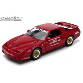 PONTIAC TRANSAM GTA 1987 NASCAR TALLADEGA 500 PACE CAR ROUGE FLAMME