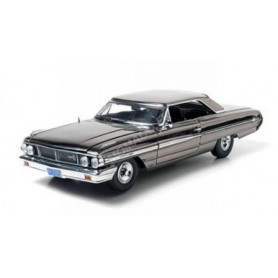 FORD GALAXIE 500 1964 MEN IN BLACK III NOIR CHROME