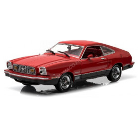 FORD MUSTANG II MACH I 1976 ROUGE