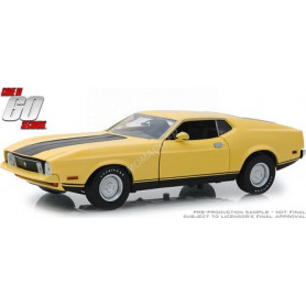 "FORD MUSTANG MACH 1 ELEANOR 1971 ""60 SECONDES CHRONO (1974)"" JAUNE"