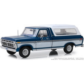 FORD F-100 1975 BLEUE/BLANC (EPUISE)