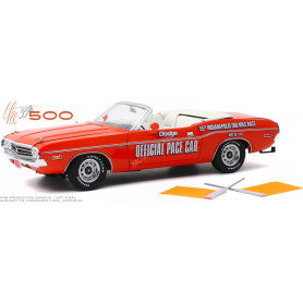 """DODGE CHALLENGER CONVERTIBLE 1971 """"55TH INDIANAPOLIS 500 MILES RACE DODGE OFFICIAL PACE CAR"""""""