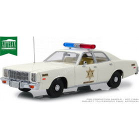 "PLYMOUTH FURY 1977 ""HAZZARD COUNTY SHERIFF"""
