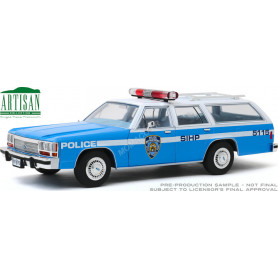 """FORD LTD CROWN VICTORIA WAGON 1988 """"NEW YORK POLICE DEPARTMENT"""" (NYPD)"""