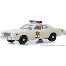 "PLYMOUTH FURY 1977 ""HAZZARD COUNTY SHERIFF"""