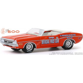 DODGE CHALLENGER CONVERTIBLE 1971 55TH INDIANAPOLIS 500 MILE RACE DODGE OFFICIAL PACE CAR