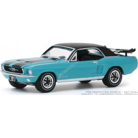 """FORD MUSTANG COUPE """"SKI COUNTRY SPECIAL"""" 1967 WINTER PARK TURQUOISE (EPUISE)"""