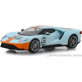 """FORD GT 2019 9 FORD GT HERITAGE EDITION """"GULF OIL"""" (EPUISE)"""