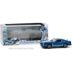 FORD MUSTANG II COBRA II 1976 BLEUE BANDES BLANCHES (EPUISE)