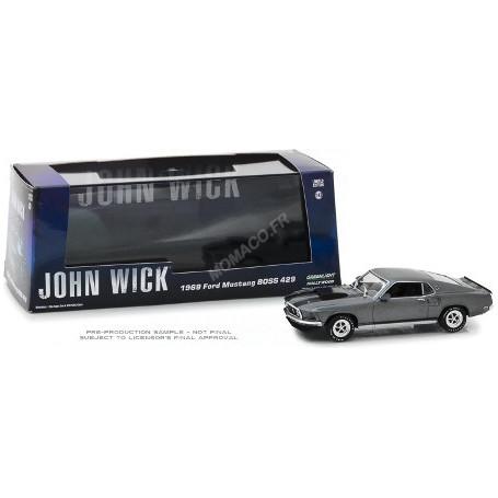 "FORD MUSTANG BOSS 429 1969 ""JOHN WICK (2014)"