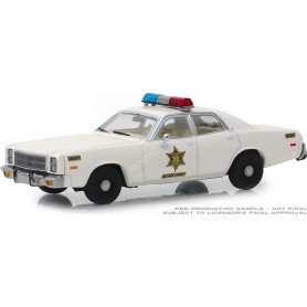"PLYMOUTH FURY 1977 ""HAZZARD COUNTY SHERIFF"" (EPUISE)"