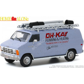 "DODGE RAM VAN ""MAMAN J'AI RATE L'AVION (1990) - OH-KAY PLUMBING & HEATING"""