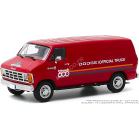 """DODGE RAM B150 VAN 1987 """"71ST ANNUAL INDIANAPOLIS 500 MILES RACE OFFICIAL TRUCK"""""""