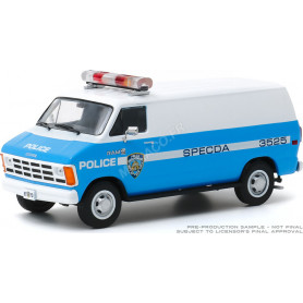 "DODGE RAM B250 VAN 1987 ""NEW YORK POLICE DEPARTMENT"" (NYPD)"