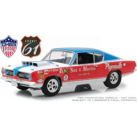 "PLYMOUTH BARRACUDA SOX & MARTIN 1968 ""BARRETT-JACKSON SCOTTSDALE (2014)"""
