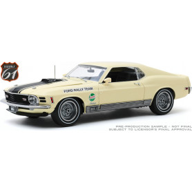 "FORD MUSTANG MACH 1 1970 ""COMPETITION L.TEAM - SCCA ROAD RALLY CHAMP."""
