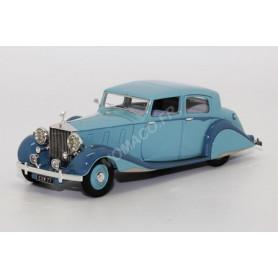 ROLLS-ROYCE PHANTOM III 1938 BLEU CLAIR FERME