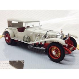 MERCEDES-BENZ 680S SPORT 4 SINDELFINGEN 1927 BEIGE/ROUGE FERME