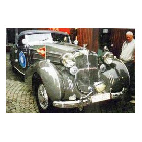 HORCH 853A SPEZIAL ROADSTER ERDMANN AND ROSSI SN8542751939 VOITURE ORIGINALE